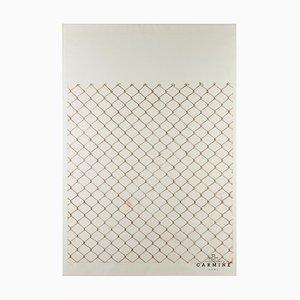 Alfred Hofkunst (1942-2004), Recinzione in rete metallica, Litografia 29/33