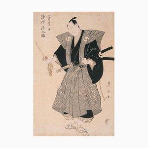 Utagawa Toyokuni, The Kabuki Künstler Sawamura Gennosuke