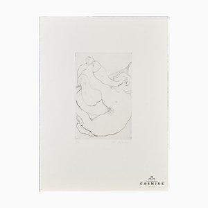 Alfred Hofkunst (1942-2004), niño pequeño, grabado, 6/20