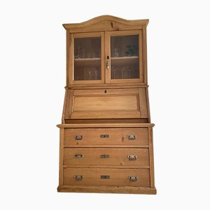 Trois Corps Tower Cabinet in Alpine Fir, Late 19th Century