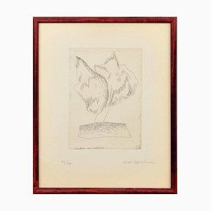 Meret Oppenheim, (1913 - 1985), Nuages sur continent, 56/100, 1964, Framed