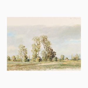 Rudolf Müller (1892, Grenchen - 1972, Bern), Watercolors, Set of 5