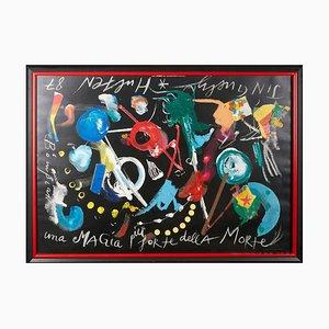Jean Tinguely, Hutral Museum Pompidou Paris Poster, gerahmt