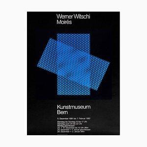 Werner Witschi, Kunstmuseum Bern Plakat, 1981-1982