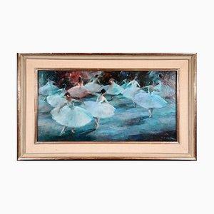Vrbova Stefkova, Miloslava, Ballet, Oil on Canvas