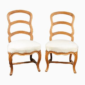 Baroque Chairs by Pierre Nogaret (1718 - 1771), Early 18th Century, Set of 2