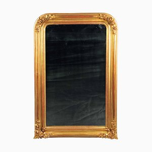 Napoleon III Style Gold Plated Wall Mirror, France, Mid-19th Century