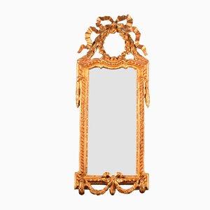 Miroir Étroit Louis XVI, Allemagne ou Pays-Bas, Fin 18ème Siècle