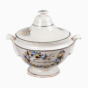 Soup Tureen from Kilchberg-Schooren or Matzendorfer, 18th or 19th Century