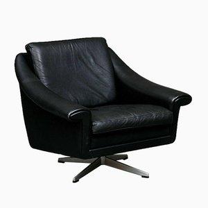 Mid-Century Danish Matador Lounge Chair & Stool by Aage Christiansen, Set of 2