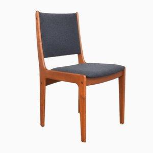 Dänische Mid-Century Esszimmerstühle aus Teak von Johannes Andersen, 1960er, 4er Set