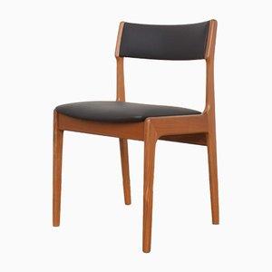 Dänische Mid-Century Esszimmerstühle aus Teak von Korup Stolefabrik, 1960er, 4er Set
