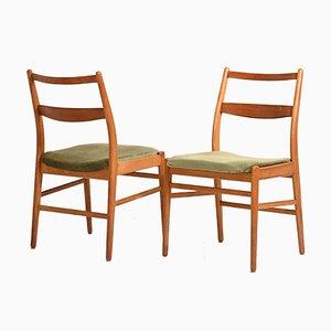 Scandinavian Chairs by Yngve Ekstrom for Hugo Troeds, 1960s, Set of 4