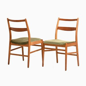 Skandinavische Stühle von Yngve Ekstrom für Hugo Troeds, 1960er, 4er Set