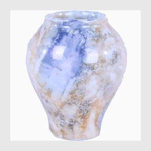 Glasierte Keramikvase von Arabia Finland, 1928-1932