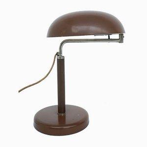Verstellbare schweizer Bauhaus Tischlampe von Alfred Müller für Amba