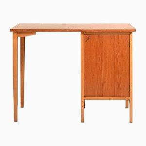 Teak und Eiche Schreibtisch