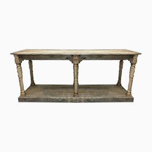 Solid Oak Drapers Workbench