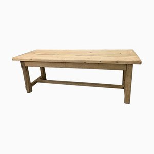 Solid Oak French Farmhouse Refectory Dining Table