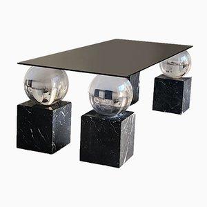 Tisch mit Kugeln und Marmor, 1970er