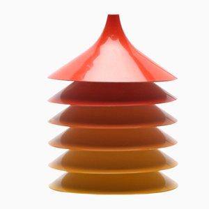 Lámpara de suspensión de Bent Gantzel Boysen para IKEA, años 70