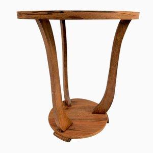 Art Deco Style Butterflied Top Gueridon Side Table