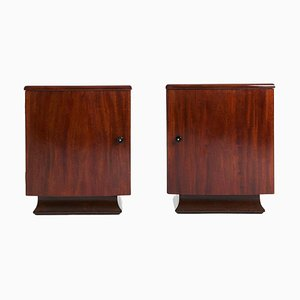 Mid-Century Bedside Cabinets, Set of 2