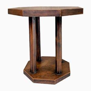 Octagonal Gueridon Side Table