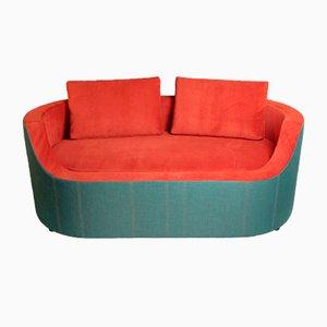 Canapé 2 Places TALK en Tissu de DEHOMECRATIC