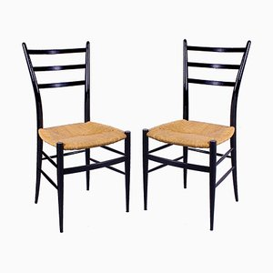 Spinetto Chiavari Italian Style Dining Chairs, 1960s, Set of 2