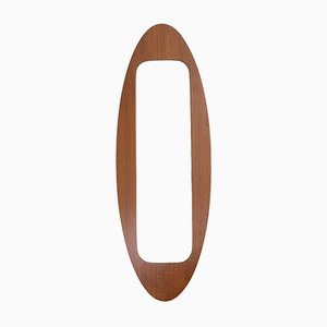 Mirror with Frame in Wood by Campo E Graffi, 1950s