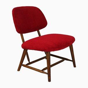 Teve Modell Fireside Chair von Alf Svensons für Ljungs Industrier, Schweden, 1953
