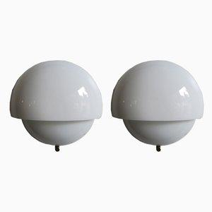 Italienische Mania Lampen von Vico Magistretti für Artemide, 1963, 2er Set