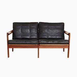 Mid-Century Sofa by Illum Walkelsø for Niels Eilersen