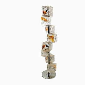 Murano Glass Floor Lamp by Toni Sugars for Veart, 1970s