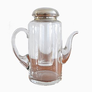 Carafe Cold Duck with Silver Mount, 1960s