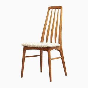 Dänische Eva Esszimmerstühle von Niels Koeefoed für Hornslet Furniture Factory, 1970er