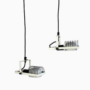 Kabel Hängelampen von Gismondi für Artemide, Italien, 1980er, 2er Set
