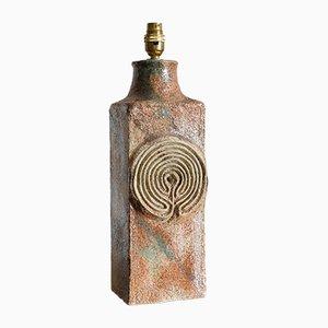 Trecarne Pottery Lamp by Marius Roux