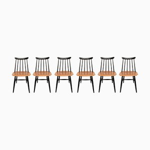 Sweden Chairs, 1950s, Set of 6