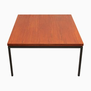 Square Coffee Table in Teak, 1960s