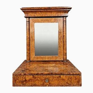 Empire Burr Amboine Wooden Mirror, 1810