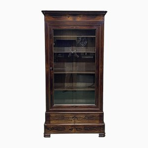 Charles X Bookcase in Rosewood, 19th Century