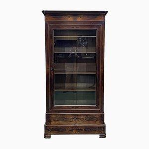 Librería Charles X de palisandro, siglo XIX