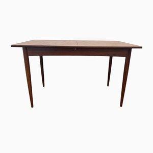 Ausziehbarer Teak Tisch, 1960er