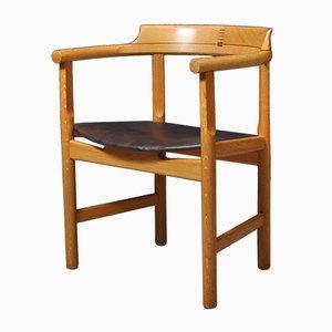 Chaise par Hans J. Wegner pour PP Furniture