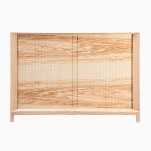 Rolleta Cabinet 86 with Tambour Door by Futuro Studio