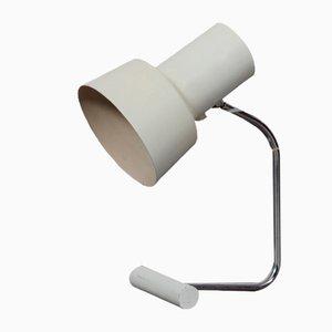 Weiße Metall Lampe von Josef Hurka für Napako, 1970