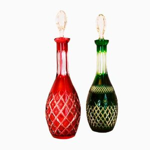 Bottles with Cap, Set of 2