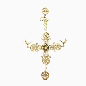Gold Crucifix, Early 20th Century